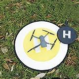 Jiayuane Tragbare Fast-Fold Landing Pad für RC Drohnen Hubschrauber, wasserdicht und stoßdämpfende Schürze Parkplatz Landing Mouse Pad