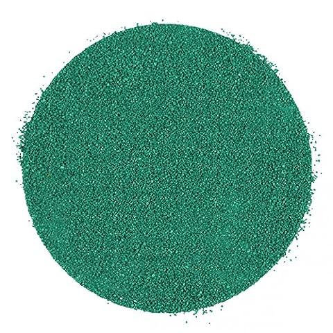 Naturosphère - Décoration naturelle - Sable décoratif coloré 0.4/0.9 mm - 400 grammes - Couleur Vert menthe