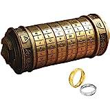 Da Vinci Code Mini Cryptex For Christmas Valentine's Day Most Interesting Birthday Gifts For Boyfriend and Girlfriend Brain T