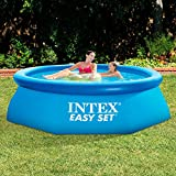 Enlarge toy image: Intex Easy Set Pool without Filter - Blue, 8 x 30 - school time children learning and fun
