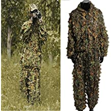 Generic dyhp-a10-code-5076-class-1-- Deer Stalking in N/Mimetico caccia Ting 3d foglia adulti mimetico/C Ghillie Suit Woodland–F adulto–-dyhp-uk10Hilli 160819–3103 - Ghillie Suits Suit