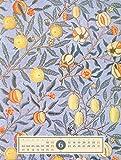 Tapetenkunst 2019, Wandkalender / Designkalender im Vintage-Look auf Naturpapier im Hochformat (50x66 cm) - Grafik-Kalender mit Monatskalendarium Test