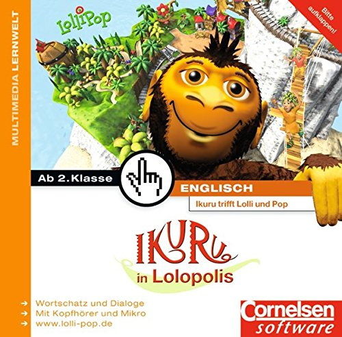 Preisvergleich Produktbild Ikuru Multimedia - LolliPop English - Lernsoftware: Band 2 - Ikuru in Lolopolis: CD-ROMs