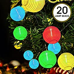 Cadena de 20 luces Decorativa para Navidad
