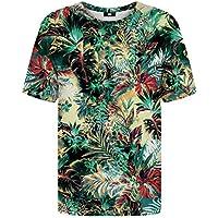 0f3eaf86030e43 Mr Gugu   Miss Go Woman Man Printed T-Shirt Tropical Jungle