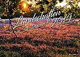 Landschaften in Deutschland Kalender 2019, Deutschland Kalender, Bildkalender, Landschaftskalender 2019, Deutschlandkalender 2019