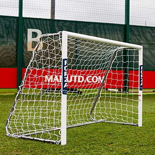 FORZA Alu60 Fußballtore - hochwertiges und freistehendes Aluminium Tor - in 10 Größen erhältlich (1,8m x 1,2m)