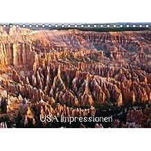 USA Impressionen (Tischkalender 2015 DIN A5 quer): Impressionen aus Kalifornien, New Mexico, Wyoming, Utah und Hawaii (Tischkalender, 14 Seiten)