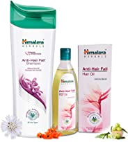 Himalaya Herbals Anti Hair Fall Shampoo, 400ml and Himalaya Herbals Anti Hair Fall Hair Oil, 200ml