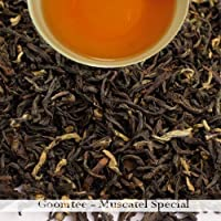2016 | Goomtee | Darjeeling 2nd flush Black Tea 100gm (3.52oz) loose leaf organic premium muscatel / musk flavor strong tea by Darjeeling Tea Boutique