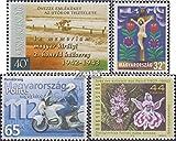 Ungarn 4767,4769,4787,4811 (kompl.Ausg.) 2003 Armee, Ostern, Polizei, Soo (Briefmarken für Sammler)