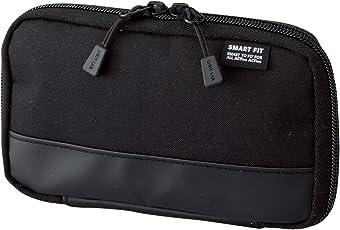 LIHITLAB Compact Pen Case Smart fit Akutakuto Black A7687-24