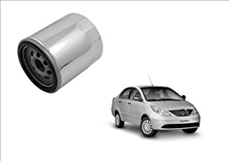 Auto Spare World Engine Oil Filter for Tata Manza 2009-2015 Diesel Set of 1 Pcs.