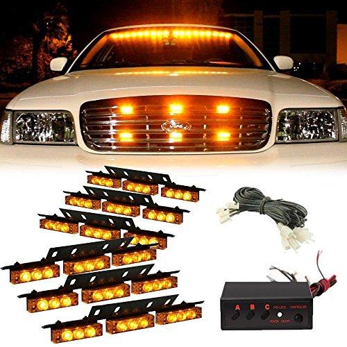 kumeed-54-led-car-van-truck-emergency-vehicle-strobe-lights-bars-warning-deck-dash-grille-6-panels-1