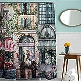 Generic 180X200Cm Vintage Old Street Wat...
