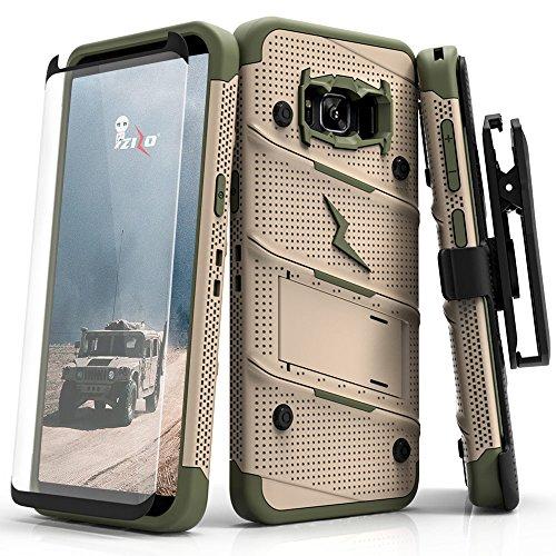 31974cf5f7c Samsung Galaxy S8 Case, Zizo [Bolt Series] w/ [Galaxy S8 Screen