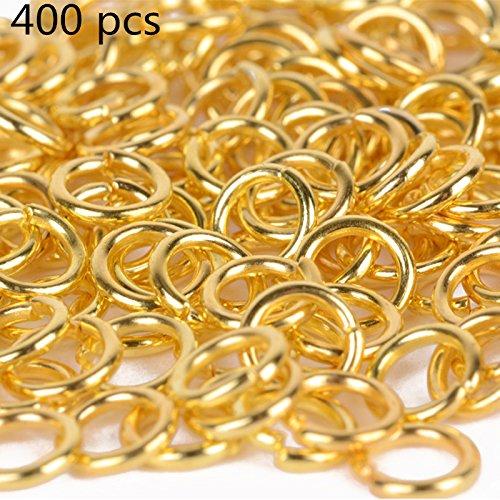 fenen Sprung Ringe Verbinder Schmuckzubehör (Gold) (Sprung Ringe)