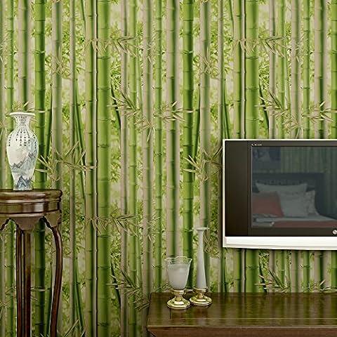 Bambus - Tapete, Umweltschutz Tapete, Restaurants, Teestuben, Klamottenläden, Dekorativer Tapete, Schlafzimmer, Wohnzimmer, Tv - Hintergrund, Wand - Tapete,Wand-Aufkleber,0.53M×10M,Wandmalerei