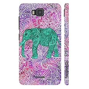 Huawei Y560 Elephant Art 6 designer mobile hard shell case by Enthopia