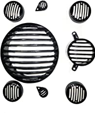 Defence Engg Bullet bike grill light cover