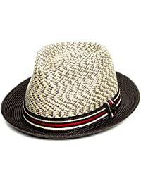 e02b9a824149e Dasmarca Summer Foldable Packable Multicoloured Trilby Hat - Adrian -  Multicoloured - X-Large