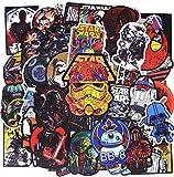Stickers, (48pcs) Autocollants pour pc, Smartphone, vélo, Trottinette, Snowboard,