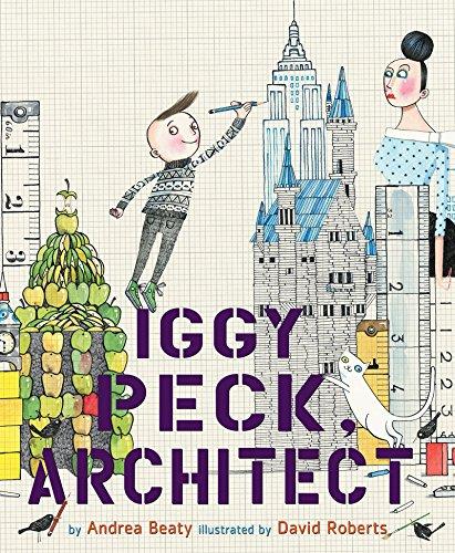 Buchseite und Rezensionen zu 'Iggy Peck, Architect' von Andrea Beaty