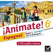 Animate Espagnol 6e éd. 2013-2 CD audio classe