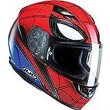 C5SHXL - HJC CS-15 Spiderman Homecoming Motorcycle Helmet (Limited Edition Marvel) XL MC1