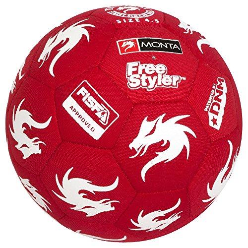Monta - Balón de fútbol de competición color multicolor talla 4.5 5ed56e893f0d1