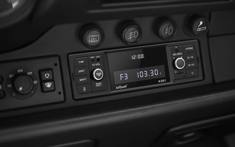 ieGeek-Autoradio-mit-Bluetooth-Freisprecheinrichtung-RDSFMAM-Radio-Tuner-1-Din-USBMP3WMAWAVTF-Media-Player-Fernbedienung-Single-Din-Universal-Autoradio