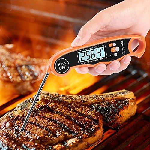 ZANMAX DT-68 Küchenthermometer, Digitale Küche 3s Temperaturmessung für Lebensmittel Suppen Babyflaschen Grill Fleisch Teste (Grad Fahrenheit / Grad Celsius)