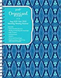 Posh Organized Living Blue Lagoon Monthly/Weekly Planning 2019-2020 Calendar