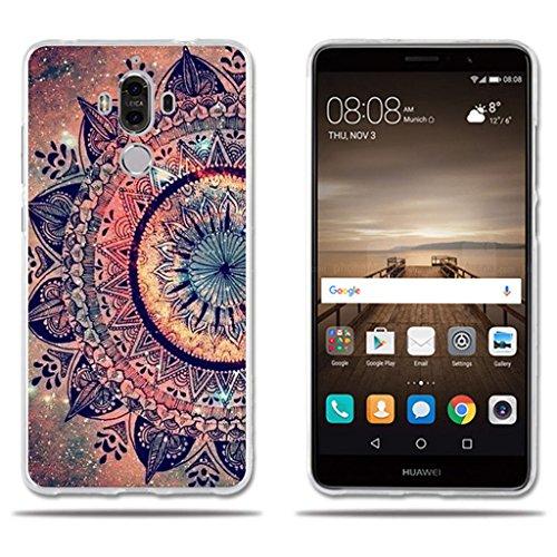 fubaoda Huawei Mate 9 Funda TPU de Gel de Silicona, Lujoso Dibujo...