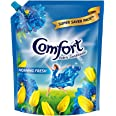 Comfort After Wash Fabric Conditioner, Refill pouch, super saver pack Morning fresh variant for all day freshness and lasting