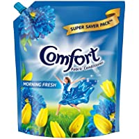 Comfort After Wash Fabric Conditioner, Refill pouch, super saver pack Morning fresh variant for all day freshness and…