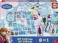 Educa - A1503253 - Coffret Jeux Société - Reine Des Neiges