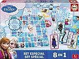 Educa Borrás Frozen - Set Especial 8 en 1, Juego de Mesa 16386