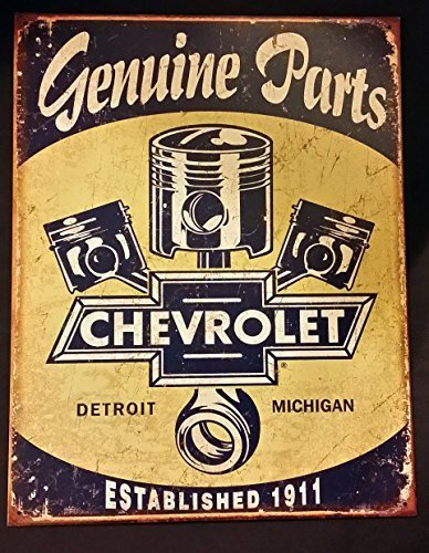 chevrolet-chevy-genuine-parts-pistons-distressed-retro-vintage-tin-sign-by-desperate