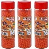 Captain Red Fruit Balls, Orange, 125g (Pack of 3)