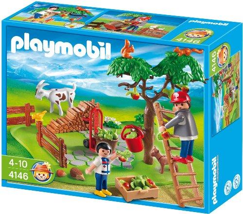 Playmobil - Granja Compact Set Recolecta...