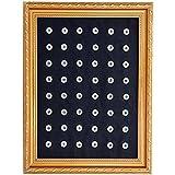 Morella Damen Click-Button Sammel Pad zur Aufbewahrung von 18 - 20 mm oder 12 mm Buttons aus schwarzem oder weißem Leder