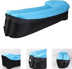 Saibit Aufblasbares Sofa, wasserdichtes Sitzsack wasserdichtes air Lounger aufblasbare couch Outdoor Sofa Luftcouch für Camping