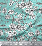 Soimoi mit Blumenmuster 42 Zoll breit Viscose Chiffon-