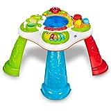 Chicco Tavolo Sensoriale per Bambini, Tavolino Multiattività Bambini Interattivo con 5 Aree Sensoriali, Gioco Elettronico Edu