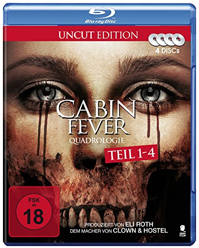 Cabin Fever Quadrologie (4 Disc-Set) [Blu-ray] - Ti Es
