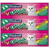 Vitakraft Cat Stick Mini Duck And Rabbit X 3, 18 Gm