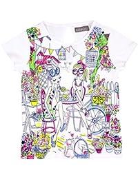 boboli Knit T-Shirt For Girl, Camiseta para Niños