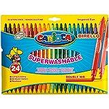 Carioca - Bolsa de cartón con 24 rotuladores (A53512024)