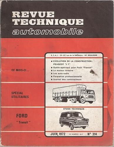 Téléchargez des livres sur amazon Revue Technique Automobile Ford Transit PDF PDB CHM